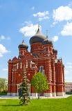 Cattedrale del Dormition (1902) nella città di Tula, Russia Immagine Stock