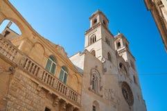 Cattedrale del duomo di Altamura La Puglia L'Italia Fotografia Stock