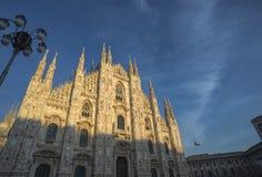 Cattedrale del Duomo di Milano fotografia stock libera da diritti