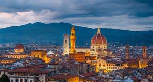Cattedrale del Duomo a Firenze fotografia stock