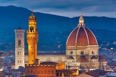 Cattedrale del Duomo a Firenze Fotografie Stock