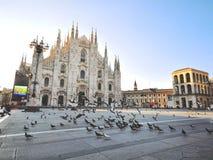 Cattedrale del Duomo, Milano Fotografie Stock