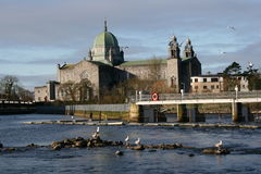 Cattedrale del Galway in Irlanda fotografia stock