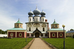 Cattedrale del monastero Fotografie Stock Libere da Diritti