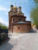 Cattedrale del monastero di Znamensky a Mosca Immagine Stock