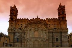 Cattedrale del normanno di Palermo Fotografia Stock Libera da Diritti