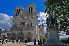 Cattedrale del Notre Dame Immagine Stock Libera da Diritti