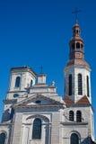 Cattedrale del Notre Dame de Quebec fotografia stock libera da diritti