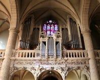 Cattedrale del Notre Dame, Lussemburgo Immagini Stock