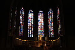 Cattedrale del Notre Dame, Lussemburgo Fotografia Stock
