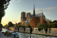 Cattedrale del Notre Dame a Parigi Immagini Stock Libere da Diritti