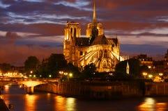Cattedrale del Notre Dame a Parigi Immagine Stock