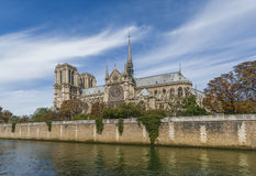 Cattedrale del Notre Dame - Parigi Immagini Stock Libere da Diritti