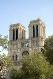 Cattedrale del Notre Dame a Parigi Francia Fotografia Stock