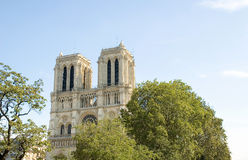 Cattedrale del Notre Dame a Parigi Francia Immagini Stock