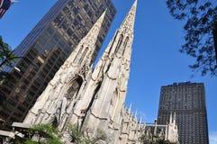 Cattedrale del Patrick santo Immagini Stock Libere da Diritti