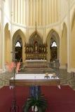 Cattedrale del presupposto della nostra signora - altare anteriore Immagini Stock