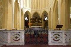 Cattedrale del presupposto della nostra signora - altare fronte Fotografia Stock Libera da Diritti