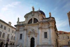 Cattedrale del presupposto di vergine Maria. Fotografie Stock Libere da Diritti