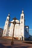 Cattedrale del presupposto e di grande incrocio. Immagini Stock Libere da Diritti