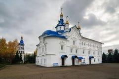 Cattedrale del presupposto del vergine benedetto nel monastero santo di Zilant Dormition immagine stock