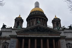Cattedrale del ` s della st Isaac di San Pietroburgo fotografie stock libere da diritti