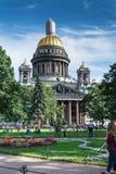 Cattedrale del ` s di Isaac del san a St Petersburg, Russia immagini stock