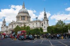 Cattedrale del ` s di St Paul a Londra Immagine Stock