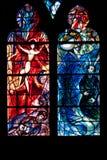 Cattedrale del Saint Etienne de Metz Immagine Stock Libera da Diritti