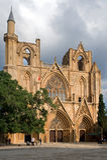 Cattedrale del Saint Nicolas/moschea Pasha di Lala Mustafa Immagini Stock