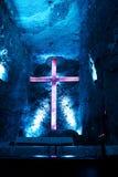 Cattedrale del sale in Zipaquira Colombia Immagini Stock Libere da Diritti