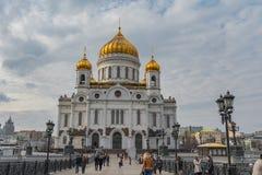 Cattedrale del salvatore di Cristo al giorno di primavera Immagine Stock
