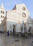 Cattedrale del san Anastasia Dalmazia zadar Croazia Europa Fotografia Stock