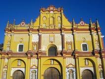 Cattedrale del San Cristobal de Las Casas Fotografia Stock Libera da Diritti