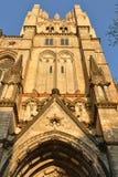 Cattedrale del san John Divine 1892, cattedrale della diocesi episcopale di New York, situata al viale 1047 di Amsterdam in Manha immagini stock libere da diritti