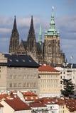 Cattedrale del san Vitus Immagine Stock