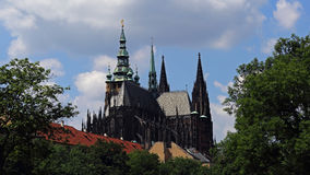 Cattedrale del san Vitus, Praga, repubblica Ceca Immagini Stock