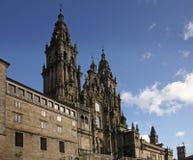 Cattedrale del Santiago de Compostela Fotografia Stock Libera da Diritti