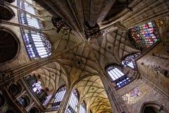 Cattedrale del Vitus del san Immagine Stock Libera da Diritti