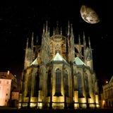 Cattedrale del Vitus del san a Praga Fotografia Stock Libera da Diritti