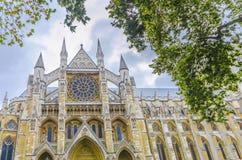 Cattedrale dell'abbazia di Westminster a Londra Fotografie Stock Libere da Diritti