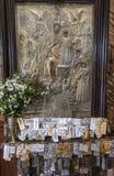 Cattedrale dell'altare di Mystras Fotografia Stock Libera da Diritti