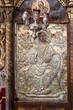 Cattedrale dell'altare di Mystras Immagine Stock