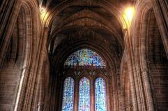 Cattedrale dell'anglicano di Liverpool Immagine Stock