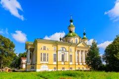 Cattedrale dell'ascensione del signore Monastero di Spaso-Sumorin Totma La Russia La Russia fotografia stock