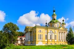 Cattedrale dell'ascensione del signore Monastero di Spaso-Sumorin Totma La Russia La Russia immagine stock libera da diritti