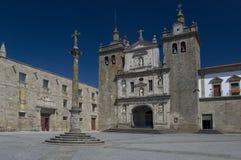 Cattedrale dell'esperto in informatica di Viseu. Portuga fotografia stock