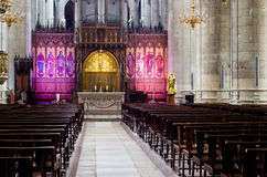 Cattedrale dell'interno Immagini Stock