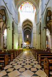 Cattedrale dell'interno di Almudena Fotografie Stock