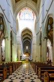 Cattedrale dell'interno di Almudena Fotografia Stock Libera da Diritti